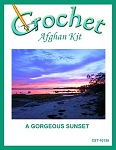A Gorgeous Sunset Crochet Afghan Kit