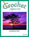 A Purple Sky Crochet Afghan Kit