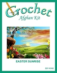 Easter Sunrise Crochet Afghan Kit