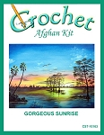 Gorgeous Sunrise Crochet Afghan Kit