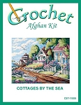 Cottages By The Sea Crochet Afghan Kit