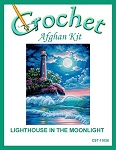 Lighthouse In The Moonlight Crochet Afghan Kit