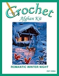 Romantic Winter Night Crochet Afghan Kit