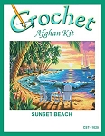 Sunset Beach Crochet Afghan Kit