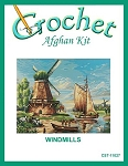 Windmills Crochet Afghan Kit