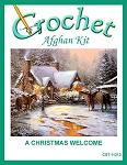 A Christmas Welcome Crochet Afghan Kit