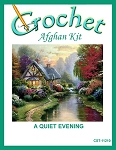 A Quite Evening Crochet Afghan Kit