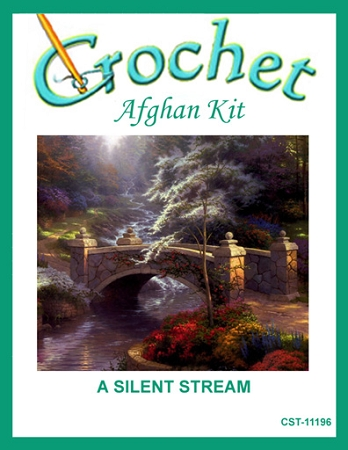 A Silent Stream Crochet Afghan Kit