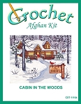 Cabin In The Woods Crochet Afghan Kit