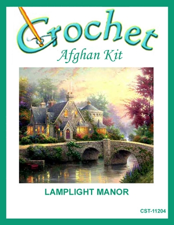 Lamplight Manor Crochet Afghan Kit
