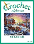 The Sleigh Ride Crochet Afghan Kit
