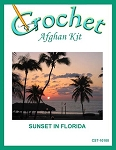 Sunset In Florida Crochet Afghan Kit