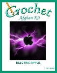 Electric Apple Crochet Afghan Kit