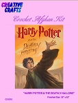 Harry Potter & The Deathly Hallows Crochet Afghan Kit