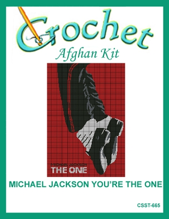 Michael Jackson You're The One Crochet Afghan Kit