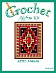 Aztec Crochet Afghan Kit
