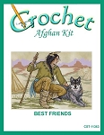 Best Friends Crochet Afghan Kit