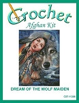 Dream Of The Wolf Maiden Crochet Afghan Kit