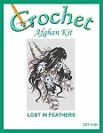 Lost In Feathers Crochet Afghan Kit