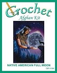 Native American Full Moon Crochet Afghan Kit