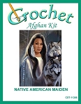 Native American Maiden Crochet Afghan Kit
