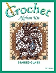 Stained Glass Crochet Afghan Kit