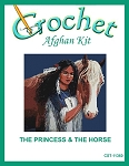 The Princess & The Horse Crochet Afghan Kit