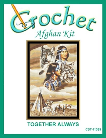 Together Always Crochet Afghan Kit