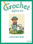 Little Boy Blue Crochet Afghan Kit