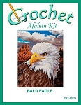 Bald Eagle Crochet Afghan Kit