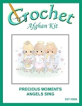 Precious Moments Angels Sing Crochet Afghan Kit