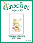 Precious Moments Baby Girl Crochet Afghan Kit