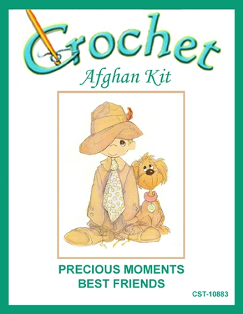 Precious Moments Best Friends Crochet Afghan Kit