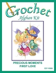 Precious Moments First Love Crochet Afghan Kit