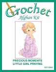 Precious Moments Little Girl Praying Crochet Afghan Kit