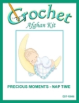 Precious Moments Nap Time Crochet Afghan Kit