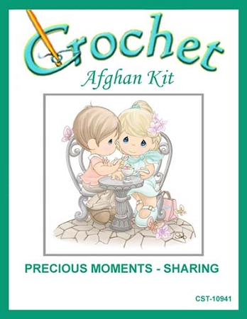 Precious Moments - Sharing Crochet Afghan Kit