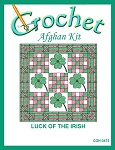 Luck Of The Irish Crochet Afghan Kit