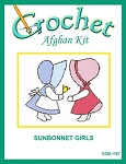 Sunbonnet Girls Crochet Afghan KIt