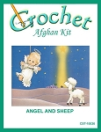 Angel And Sheep Crochet Afghan Kit