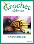 Christ And The Lion Crochet Afghan Kit