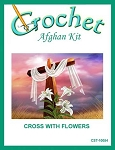 Cross With Flowers Crochet Afghan Kit