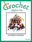 Guarded Crosses Crochet Afghan Kit