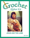 Jesus And The Lamb Crochet Afghan Kit
