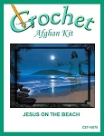 Jesus On The Beach Crochet Afghan Kit