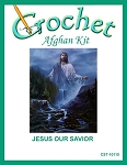 Jesus Our Savior Crochet Afghan Kit