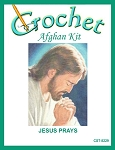 Jesus Prays Crochet Afghan Kit