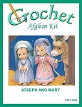 Joseph And Mary Crochet Afghan Kit