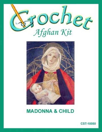 Madonna & Child Crochet Afghan Kit