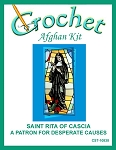 Saint Rita Of Cascia - A Patron For Deserate Causes Crochet Afghan Kit